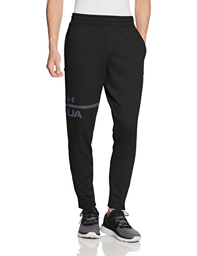 Under Armour Herren Tech Terry Tapered Pants Hose, Black, LG (Hose Terry)