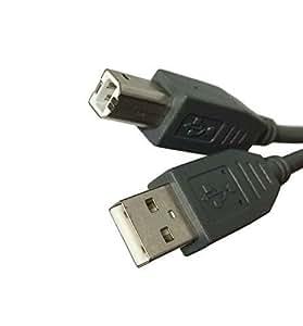 USB 2.0 1,8 m de câble multibrin pour imprimante HP Deskjet 2540 1050 1510 tout-en - 1 High Speed