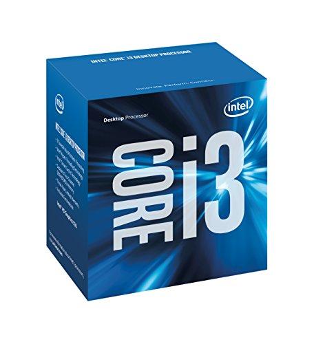 Intel Box Core i3 Processore i3-6300, Argento