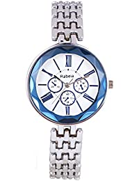 Rabela Women's Analogue White Dial Watch RAB-232
