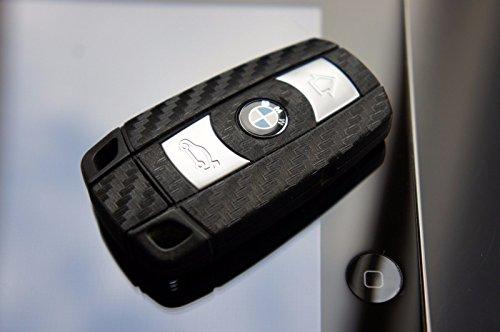 3D Carbon Schwarz Folie für Ihren Schlüssel von Wizuals©
