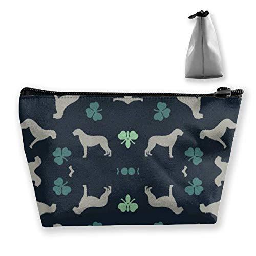 Irish Wolfhounds Kosmetiktasche/Tasche/Clutch Travel Case Organizer Aufbewahrungstasche -