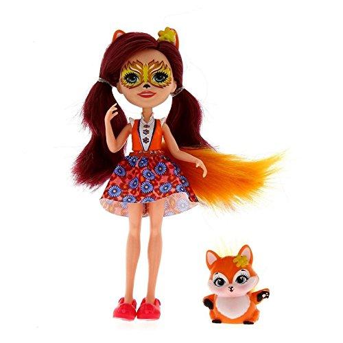 Enchantimals Muñeca Felicity Fox con Mascota
