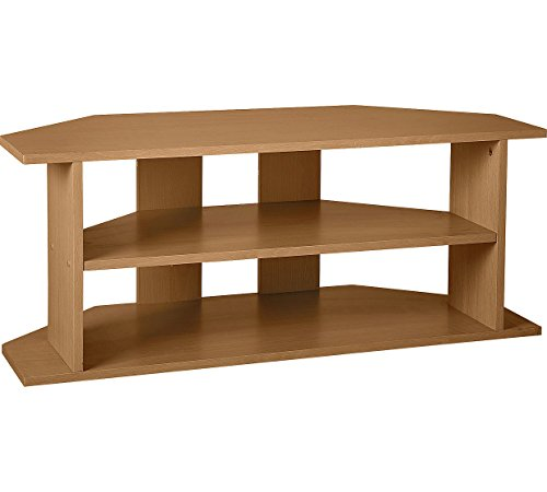 Large Corner Tv Unit - Oak Effect