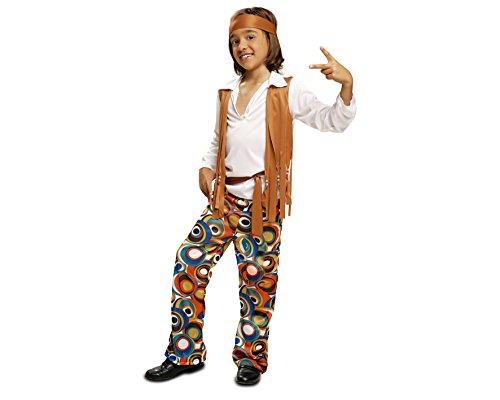 My Other Me - Disfraz de Hippie para niños, talla 3-4 años (Viving Costumes MOM00504)