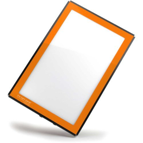Porta-Trace LED Light Panel, Orange Frame, 11-by-18-Inch by Gagne Gagne Porta-trace Led