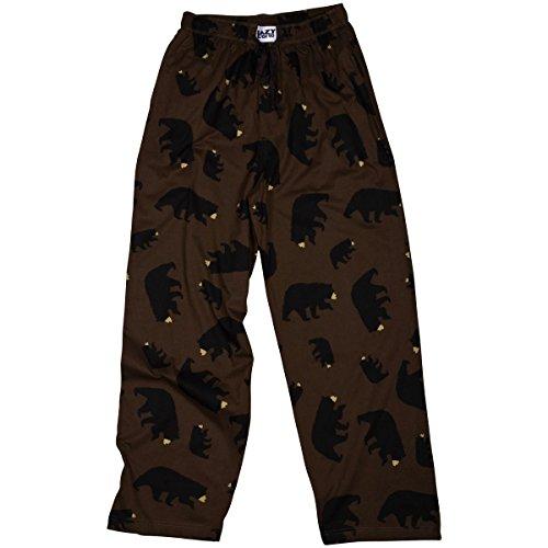 LazyOne Unisex Timberland Bear Pyjama Hosen Erwachsenen XL (Erwachsenen-cowboy-pyjama)