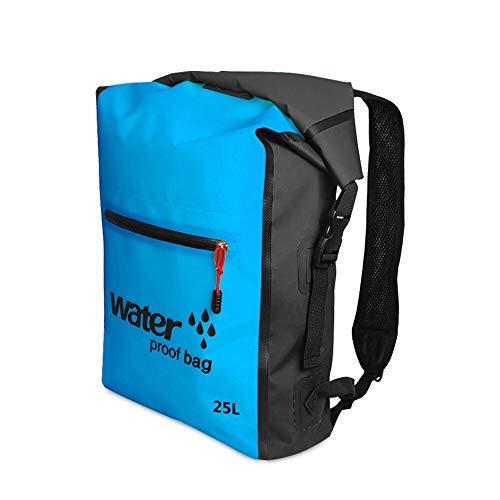Taidallo 25L Outdoor wasserdichter Packsack Camping & Wandern,Exquisite Aussehen (Farbe : Blue) -