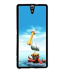 printtech Crane Octopus Seawater Back Case Cover for Sony Xperia C5 Ultra Dual , Sony Xperia C5 E5553 E5506::Sony Xperia C5 Ultra
