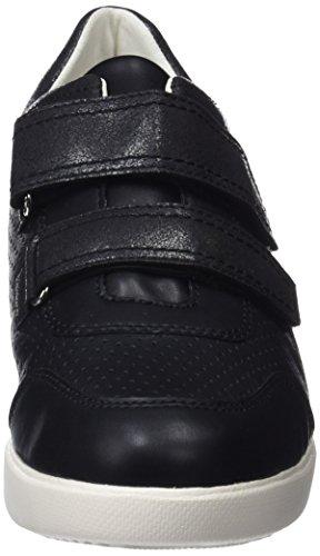 c5c66e27fb Geox Damen D Stardust C Sneaker Schwarz Black - friseursalon-sabine ...