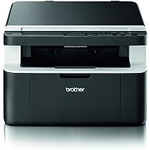 Brother DCP-1512 Kompaktes 3-in-1 Laser-Multifunktionsgerät (Scanner, Kopierer, Drucker) schwarz