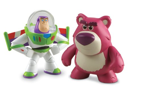 Disney - Toy Story 3 - Buddy Pack - ca. 5-6cm Figuren - Hero Buzz Lightyear & Lotso (Bär) (Toy Aus 3 Bär Story)