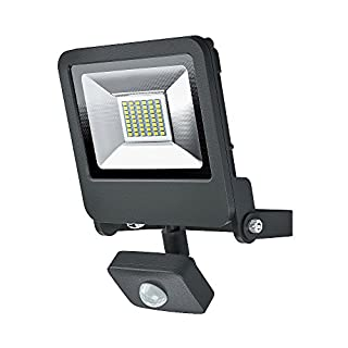 OSRAM Endura Flood Light with Motion Sensor, Aluminium, Integrated, 30 W, Dark Grey (B077MG9MZW) | Amazon Products