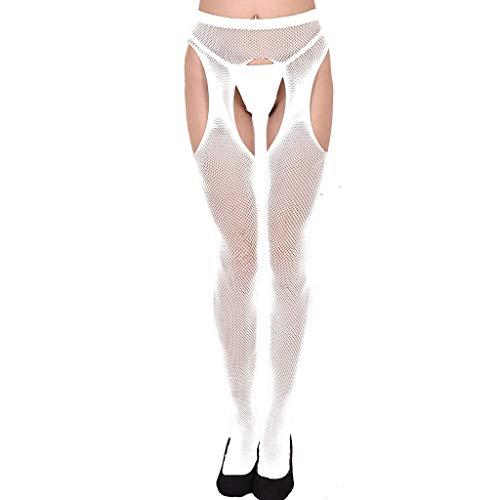 Beikoard Sexy Dessous,Frauen Sexy Dessous Strumpfhosen Öffnen Gabelung Collant Femme Lange Strümpfe Volle-Footed Gute Stretchy Strumpfhose Bodystockings Sex ()