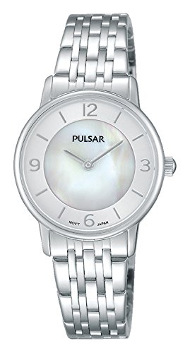 Pulsar women's analogue quartz watch from coated stainless steel - PH025X1