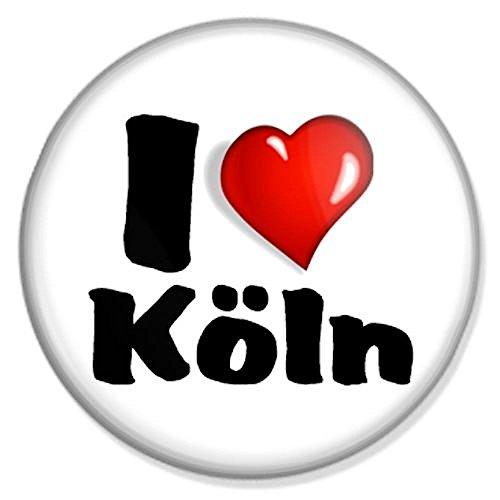 I love Köln Button, Badge, Anstecker, Anstecknadel, Ansteckpin