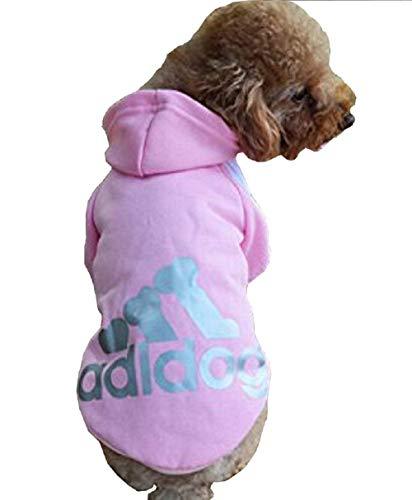 Inception Pro Infinite Kostüm - Verkleidung - Sweatshirt - Shirt - T-Shirt - Pink - Kapuze - Adidog - Hund (XL) Xl Hund Sweatshirts