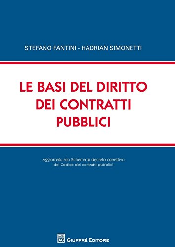 Le basi del diritto dei contratti pubblici