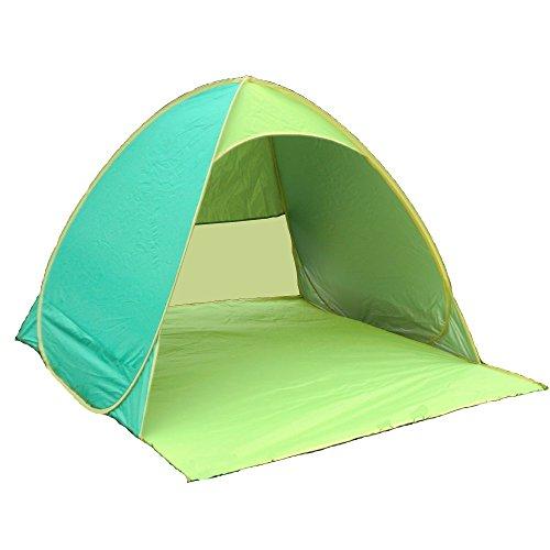 Aofit Pop Up Zelt / Strandmuschel, vollautomatisch, faltbar , grün, 01-For 2-3 persons