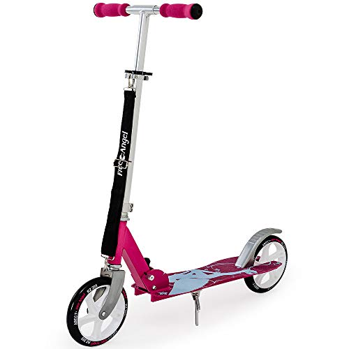 Deuba Profi Scooter inkl. Tragegurt Roller ABEC7 205mm klappbar Tretroller Kinderroller Cityroller Higer and Higher