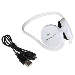 Casque Oreillette Lecteur MP3 Sans Fil Audio Carte TF FM Radio pour Jogging
