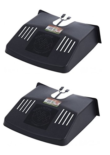 2-x-outdoor-drain-grid-gutter-cover-black-plastic-prevents-blockages-to-drains
