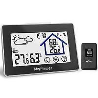 Descrizione del prodotto:   La stazione meteorologica non è solo dotata di letture affidabili, ma anche di un monitor di temperatura e umidità che ti informa quotidianamente dell'umidità / temperatura più alta e più bassa di ogni giorno e ti consente...