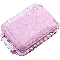 Pillendose mit Weizen-Stalk, verschweißt, klein, Kunststoff, wasserdicht, für den täglichen Gebrauch und auf Reisen preisvergleich bei billige-tabletten.eu