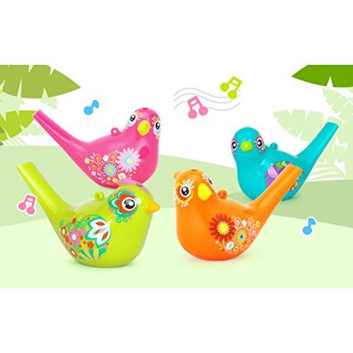 Schimer Vogelwasserpfeife, Spiegelburg Vogel-Pfeife - 3 Stück Mehrfarbige Wasservogelpfeife Wasserpfeile Vogelpfeife Pfeile aus ABS-Kunststoff Spielzeug
