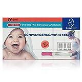 Babycolor Schwangerschaftstest Frühtest, 3 Stück Schwangerschaftstest Früh Stick Hochpräzise 20 miu/ml, Frühtest Pregnancy Test Early Detect