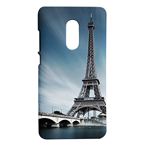 hot sale online b4194 b97d0 Xiaomi Redmi Note 4 Printed Hard Back Cover - The Eiffel Tower (By Fancy  Interio).