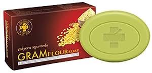 Sadguru Ayurveda Gram Flour Soap (75g) (Pack of 6)