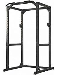 DKN Power Cage à squat Noir/Gris