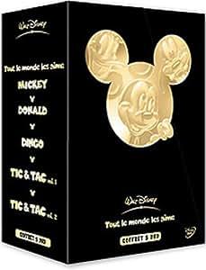 Tout le monde les aime : Mickey / Donald / Dingo / Tic et Tac, Vol. 1 & 2 - Coffret 5 DVD