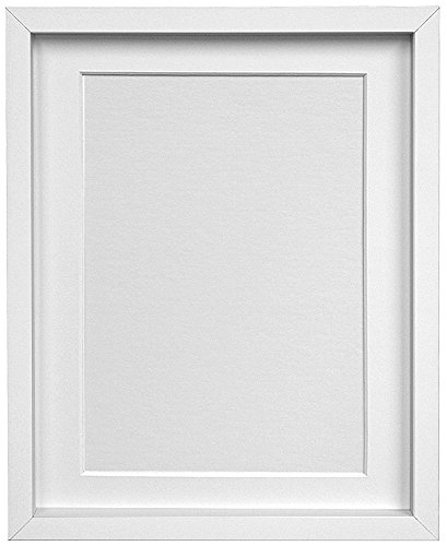 e-Books Box: FRAMES BY POST Rio Picture Photo Frame, MDF Wood, White with White Mount, 20 x 16 Inches Image Size 15 x 10 Inches RTF