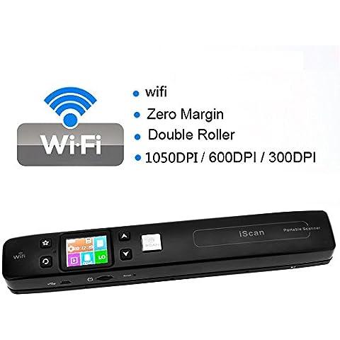 KKmoon iScan Scanner Senza Fili Wifi Portable Digital Document Foto