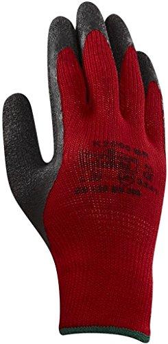 Ansell K2000BR Gants pour usages multiples, protection mécanique, Noir, Taille 8 (Sachet de 12 paires)