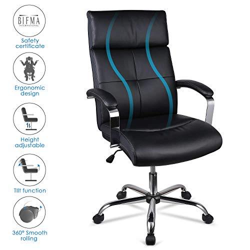 INTEY Chaise de Bureau, Fauteuil de Bureau Pivotant...