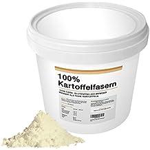 Kartoffelfasern 500g Deutsche Premiumqualität aus deutschen Kartoffeln I Abgefüllt in Deutschland von EWL Low Carb