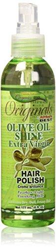 Africa's Best Organics Olive Oil Extra Virgin Hair Polish 177 ml Mist (Haarmode)