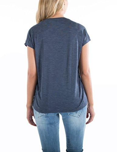 Timezone Damen T-Shirts Beach Life Top Blau (Uniform 3534)
