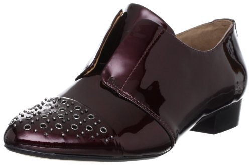 Clarks, Mocassini donna Rosso (Rouge (Wine Patent))