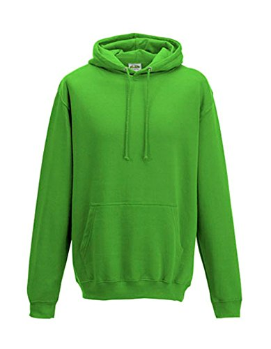 JH001 College Hoodie Kapuzenpullover Sweatshirt Kapuzensweatshirt, Größen:3XL, Farbe:Lime Green - Lime Green Hoodie Männer