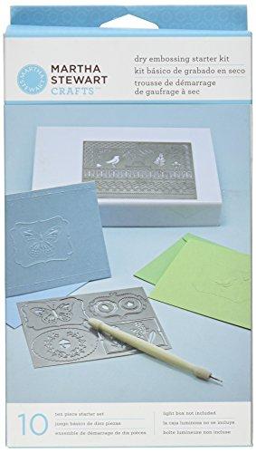 Martha Stewart Crafts Dry Prägung Kit, -