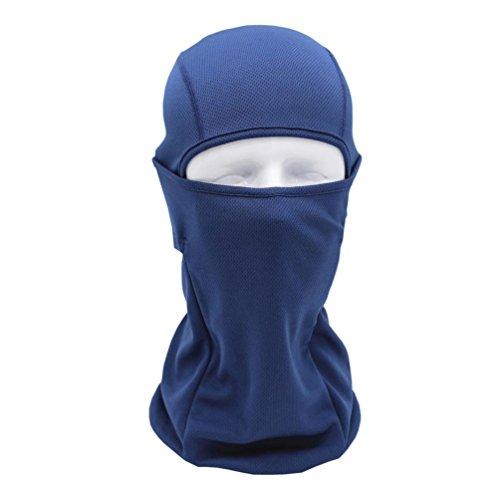 sunnymi Super Soft Radsport Voll Gesichtsmaske Helm 2018 Unisex Multifunktionale Radfahren Schal ❤️ Atmungsaktive Sonnenschutz Winddichte Sport (Marine)