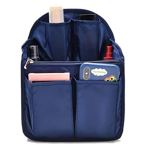 90f568d3eb57 BeeViuc Backpack Organiser Insert, Backpack Insert for Women Backpack  Rucksack Shoulder Bag - Small Dark Blue