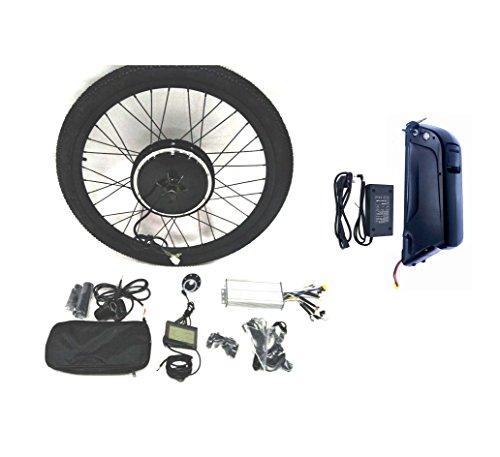 """36V500W Hub Motor 11AH Li-on Battery Powered Elektro-Fahrrad Umbausatz + LCD + Tire Theebikemotor (29\"""" Rear Wheel + 7 Speed Gear)"""