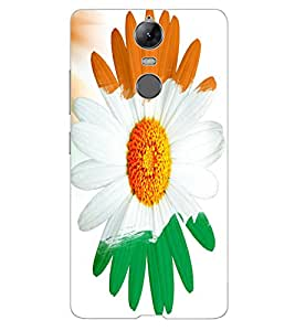 ColourCraft Beautiful Flower Design Back Case Cover for LENOVO K5 NOTE