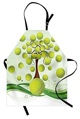 ABAKUHAUS Tenis Delantal de Cocina