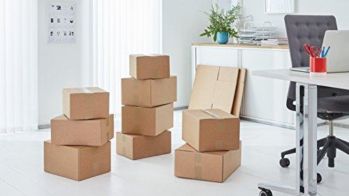 TESA 6 Rollen Paketklebeband, 66 m, 50 mm, braun, 64014 - 5